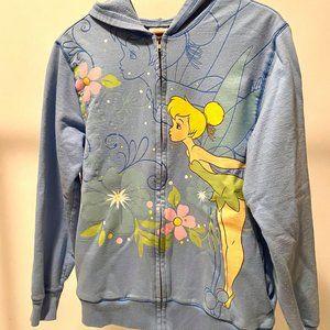 Tinkerbell Disney Store Sweater - Retro Zip Up